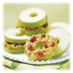 """Apple """"Bagel"""" Snacks—Perfect for after school. Snacks"""
