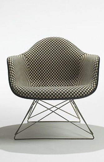 Charles + Ray Eames - LAR-1 Armchair for Herman Miller - 1950  #EAMES #eameschair