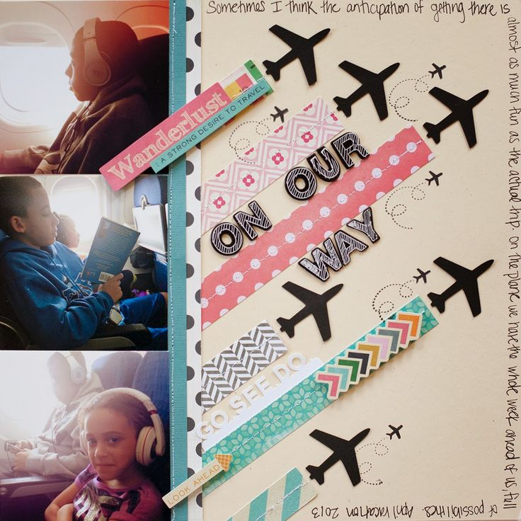 Life is not whatnot: Scraptastic April Layouts