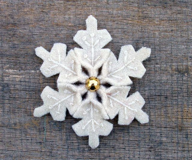 Snowflake by WanderingLydia, via Flickr