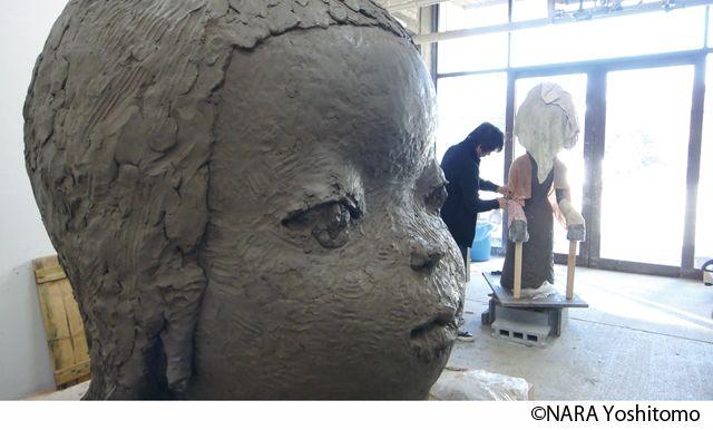 奈良美智が横浜美術館で個展「奈良美智:君や 僕に ちょっと似ている」開催 - ブロンズ彫刻や新作披露の写真9