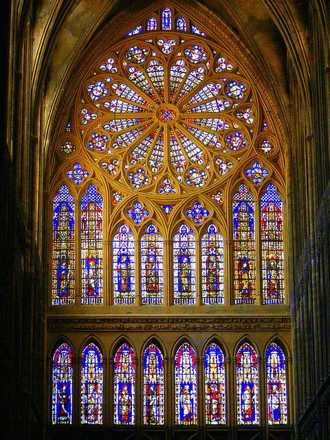 God's lantern - Metz Cathedral, Metz, France   by mujepa