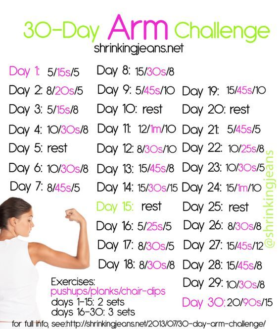 Summer is upon us, and that means sleeveless season is just around the corner. I don't know about you, but my upper arms are definitely not ready to see the light of day!! It's time to add a 30-day arm toning challenge into your workout mix to get your arms looking sleek and sexy! Stay …