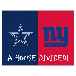 NEW ARRIVAL: Dallas Cowboys vs New York Giants 35x45 House Divided Rug http://www.fansedge.com/Dallas-Cowboys-vs-New-York-Giants-35x45-House-Divided-Rug-_-478191764_PD.html?social=pinterest_pfid22-53605