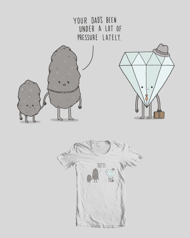 no diamonds, no pressure