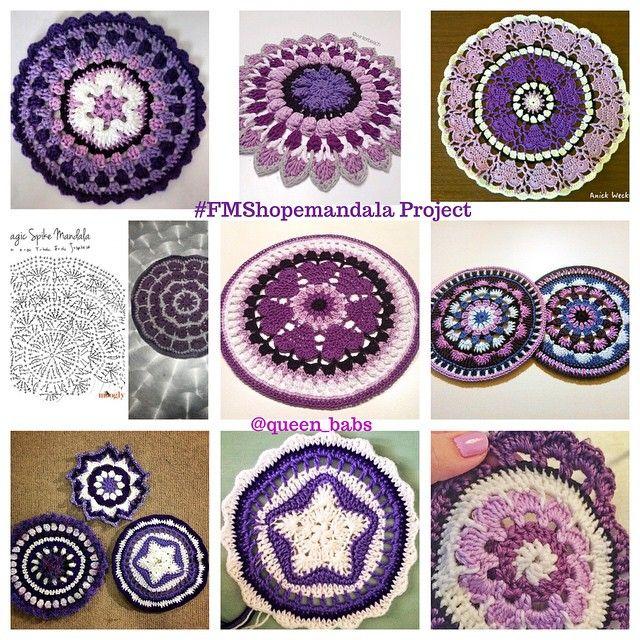 Mandala Zdarma vzor | spincushions