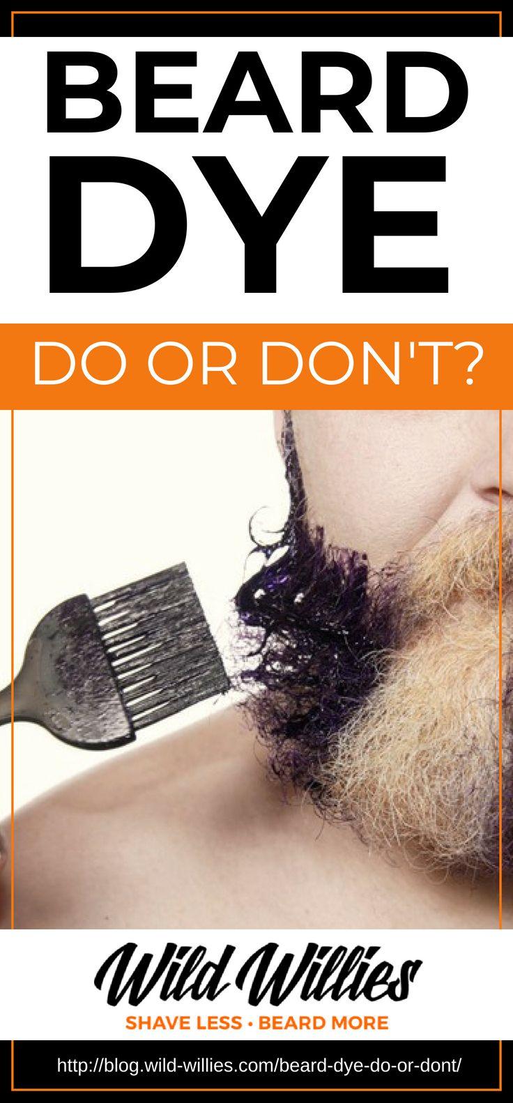 A Quick Guide To Beard Dye and Beard Coloring | Beard styles ...