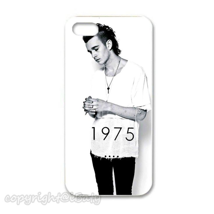 Matt Healy The 1975 white back cover hard plastic phone case for Apple iPhone 4 4s 5 5s 5c 6 6s plus 2015 New Design