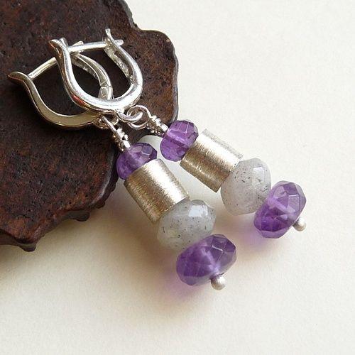 #srebro #labradoryt #ametyst #jewelry  cudosfera.pl