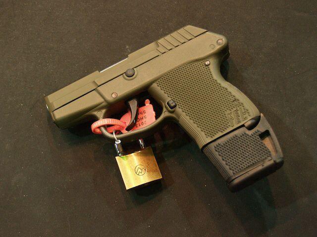 Kel Tec handgun factory hard case originally from a P3AT 380