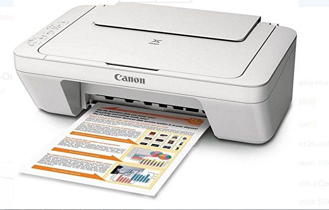 Canon Pixma Mg2520 All In One Print Scan Copy Inkjet Printer Ink
