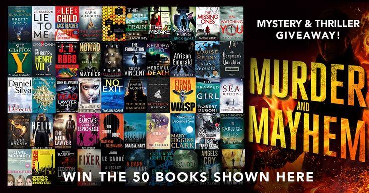 Mega Giveaway!! Win FIFTY #Mystery #Thriller #ebooks #amreading #kindle http://beccahamiltonbooks.com/giveaways/mega-giveaway-win-fifty-mystery-thriller-ebooks-amreading-kindle/?lucky=534363
