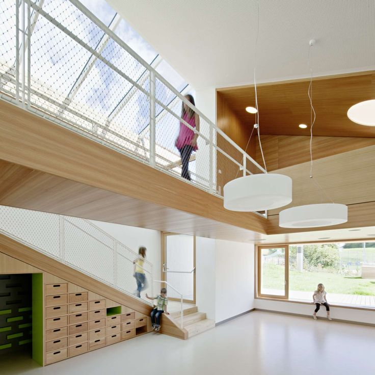 Child daycare centre at Terenten by feld72
