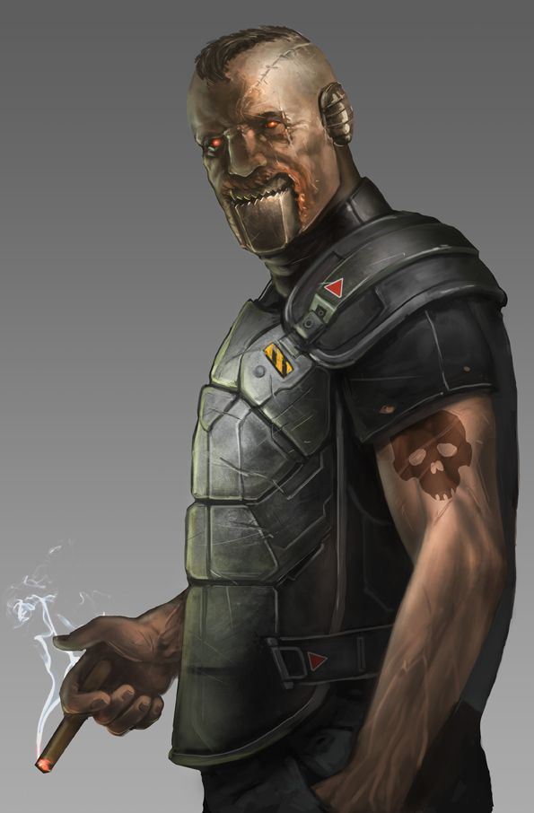 Cyborg by Odinoir on deviantART