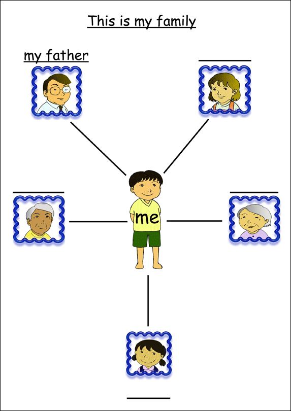 11 Best Family Printables Images On Pinterest Families Activity
