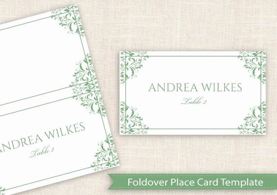Place Card Template Free Download Best Of Wedding Place Card Template Download I Wedding Place Card Templates Place Card Template Printable Place Cards Wedding