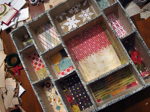 how to make your own shadow box...custom sized...Coffee Girl crafts