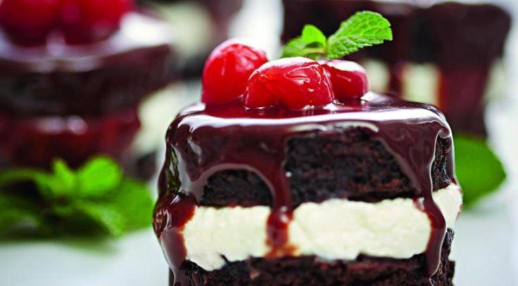 Шоколадные пирожные свишней