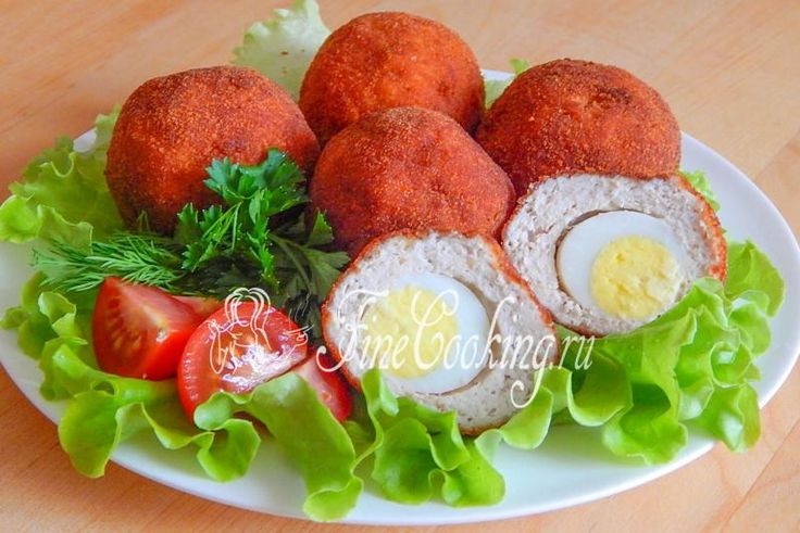 Яйца по-шотландски - рецепт с фото
