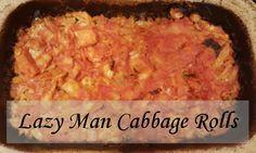 Lazy Man Cabbage Rolls