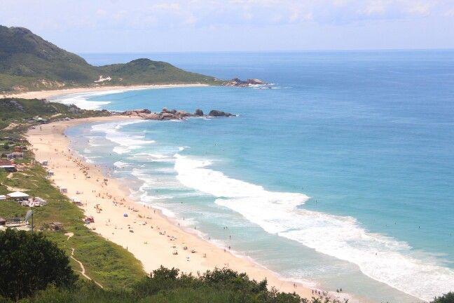 Praia Mole en Florianópolis, SC