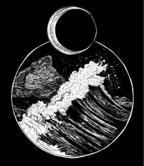 Ocean Tattoo Moon Child …