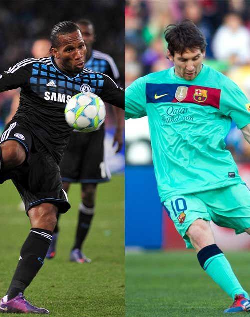 2nd leg of the EUFA Champions League semi final April 24, 2012.