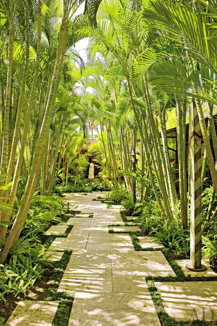 exotic garden by werner design associates and mark de reus in kona hawaii