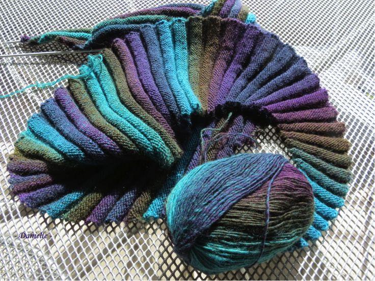 Echarpe aux couleurs de Provence
