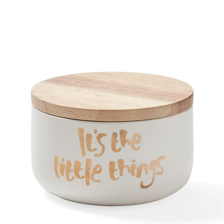 Me & My Trend - 'It's The Little Things' Canister