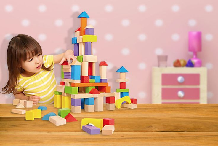 I just bought Children's Wooden Building Blocks (from £4.99) via @wowcher