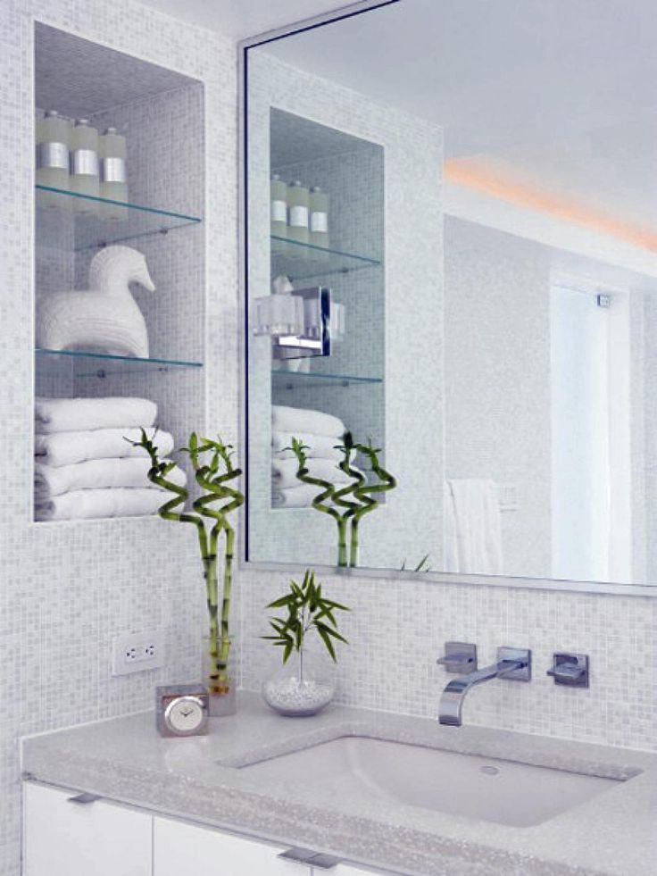 Photos Of  Tips for Decorating a Small Bathroom
