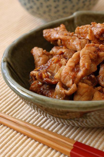 Recipe: Pan Fried Ginger Pork (Buta Shogayaki), Popular Japanese Home Meal|豚の生姜焼き