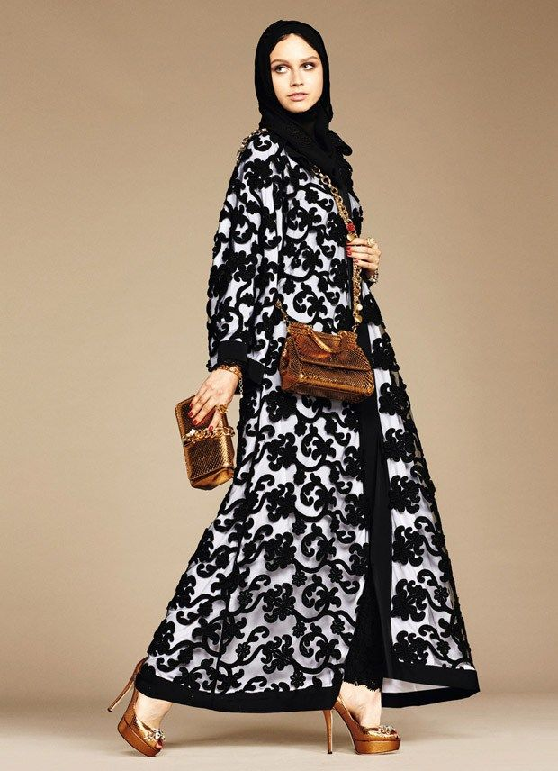 DOLCE & GABBANA ABAYAS COLLECTION