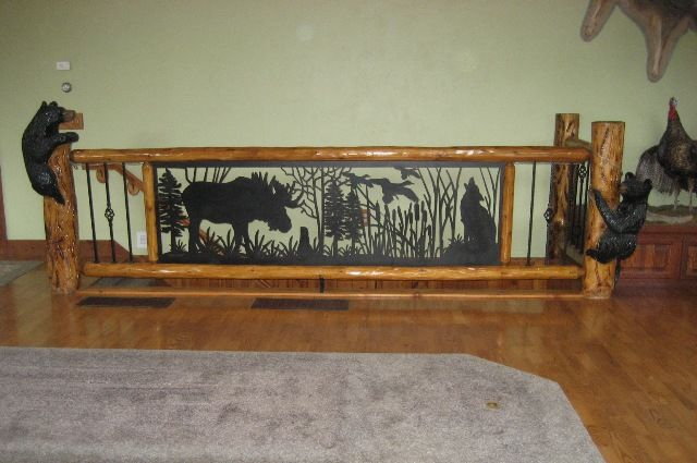 Custom Interior Railings Wildlife Scene Jpg 640 215 425