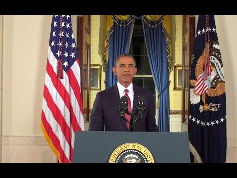 ❥ President Obama Addresses the Nation on the ISIL Threat - YouTube~ a lot of hot air