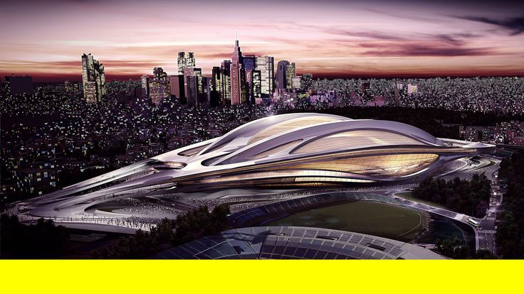 zaha hadid's new national stadium of japan to be venue for tokyo 2020 olympics. with the announcement of tokyo winning the bid to host the 2...