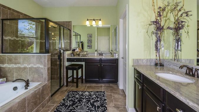 Taylor morrison model homes sawgrass lancaster model for Bathroom remodel orlando
