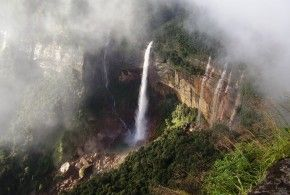 Nohkalikai Falls, Meghalaya, India | 1,000,000 Places