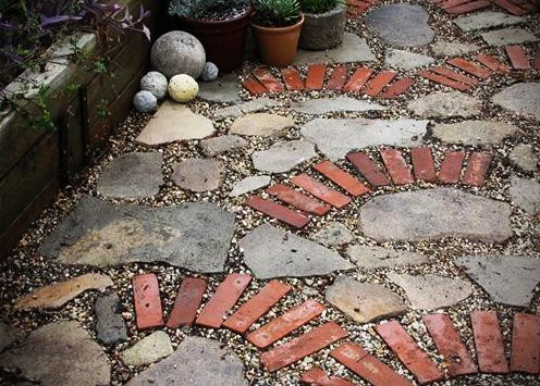 34 best Brick and stone patios images on Pinterest Stone patios