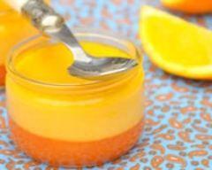 Crème de carotte à la fleur d'oranger #recette #dessert #crème #fruit #légumes #facile