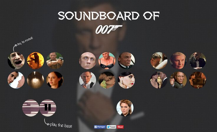 http://jamesbondboard.com/  Make Your Bond Sound !!