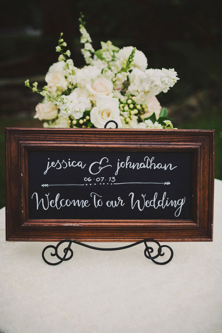 welcome #sign Photography: Ariel Renae - www.arielrenaephoto.com, Design and Styling by http://cedarwoodweddings.com/
