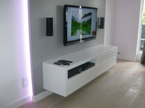 tv meubel met led strips verlichting pinterest tvs led strip and led. Black Bedroom Furniture Sets. Home Design Ideas