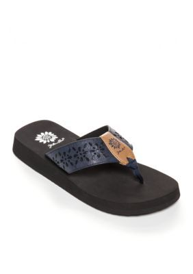 Yellow Box Women's Tranquil Cutout Platform Flip Flop Sandalss -  - No Size