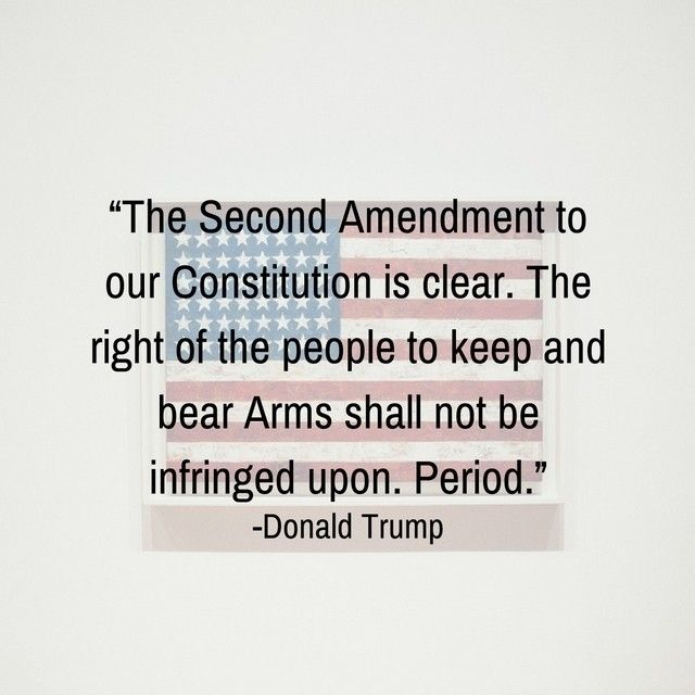 Like if you are glad to have a president who upholds the 2nd Amendment!  #InSearchOfLiberty #Freedom #America #Conservative #Constitution #2ndAmendment #GunRights #DonaldTrump