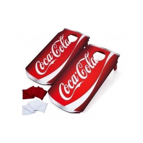 Cornhole-Bag-Toss-Boards-Backyard-Games-Sport-Recreation-Tailgate-Coke-Coca-Cola