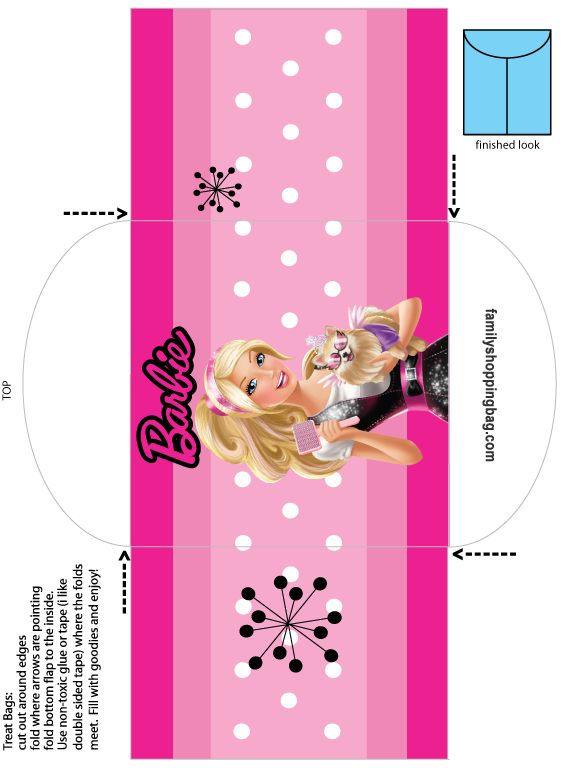 Http Www Familyshoppingbag Com Barbie Printables Htm