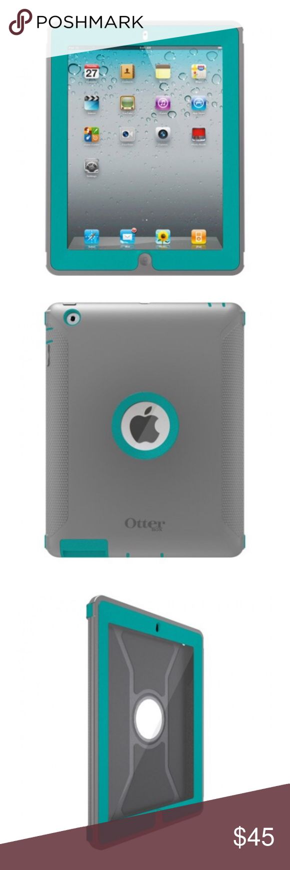 OTTERBOX DEFENDER SERIES CASE FOR IPAD 4/3/2 OTTERBOX DEFENDER SERIES CASE FOR IPAD 4/3/2 - GREY TURQUOISE HARBOR. Compatibility: Apple iPad with Retina display / iPad 4th generation (16GB, 32GB, 64GB), Apple new iPad / iPad 3 (16GB, 32GB, 64GB), Apple iPad 2 (16GB, 32GB, 64GB).  Excellent condition!! OtterBox Other