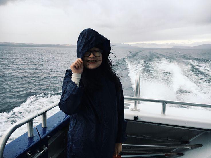 On a boat! #gonesailing